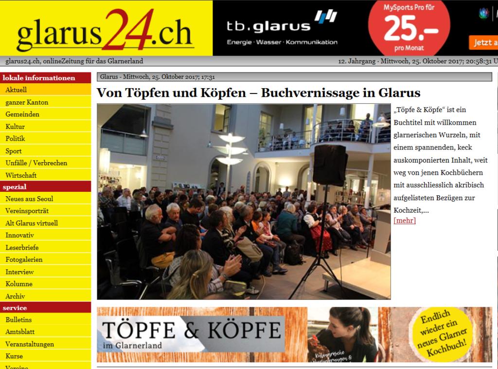 Glarus24-Buchvernissage-Glarner-Kochbuch