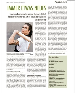 Lea Schindler Glarner-kochbuch